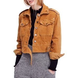 Free People Everlyn jacket NWT